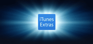 iTunes Extras feature page in iTunes Store