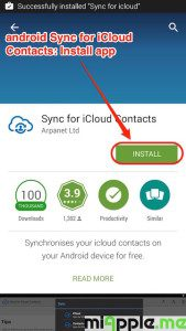 android Sync for iCloud Contacts_01_install