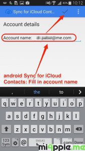 android Sync for iCloud Contacts_07_account name