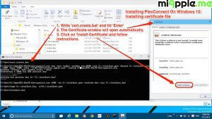 Installing PlexConnect On Windows 10_Creating certificate file