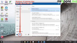 Windows 10 Calendar App_01_Open app from mail app