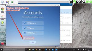 Windows 10 Calendar App_03_Add account or be done