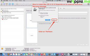Installing OS X 10.10 Yosemite on external drive_03_disk utility GUID partition table