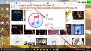 Install iTunes for Windows 10_03_launching iTunes after succesful installation on Windows 10