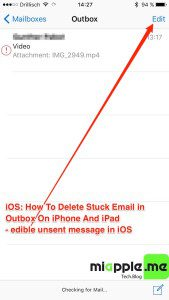 iOS_delete stuck email in outbook on iPhone and iPad_02_edible unsent message in iOS outbox