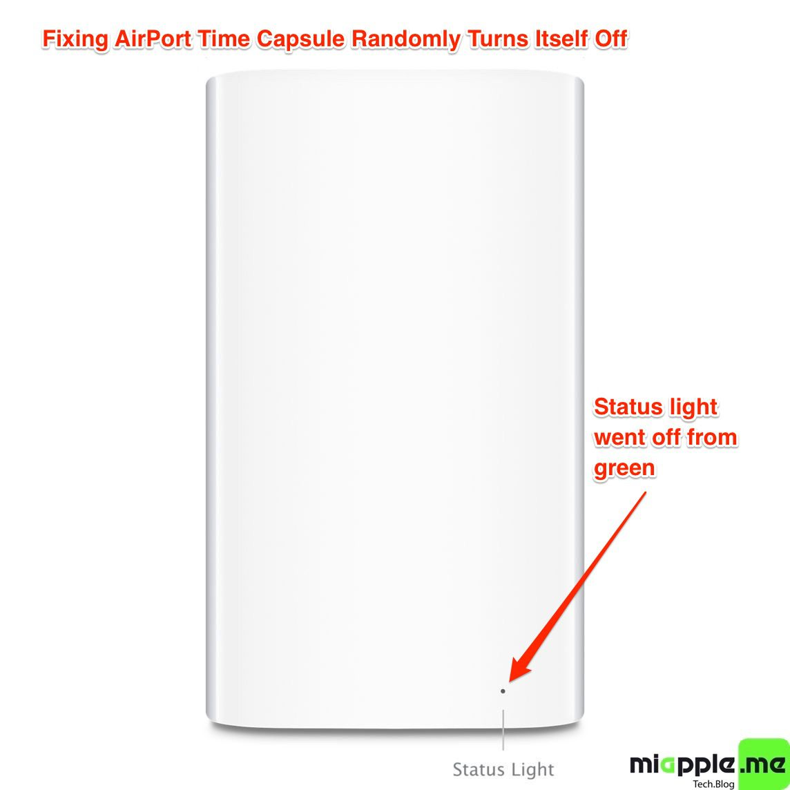 Fixing AirPort Time Capsule Randomly Turns Itself Off