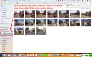 macOS Photos_Import Folders to Albums_02_importing folders