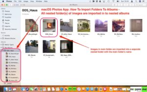macOS Photos_Import Folders to Albums_03_all imported folders