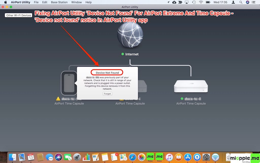 macOS_AirPort Utility_Device not found_01