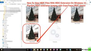 HEIF viewer on Windows 10_preview HEIC extension images with CopyTrans HEIC viewer